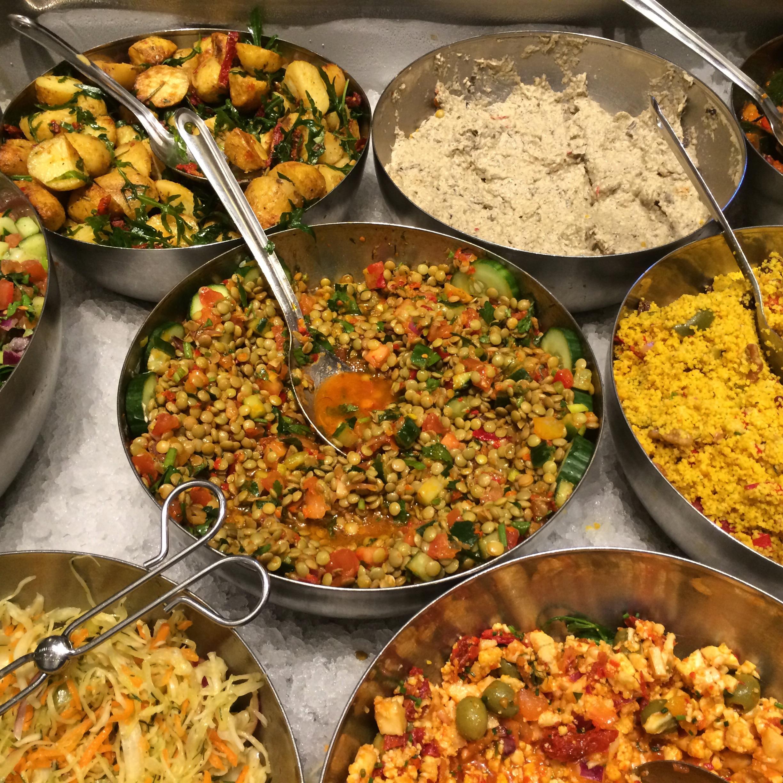 hermans vegetariska restaurang